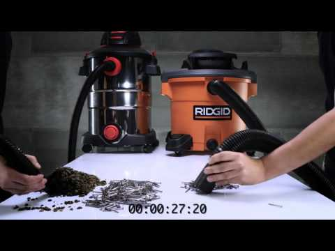 RIDGID WD1270 12 Gallon Wet/Dry Vac