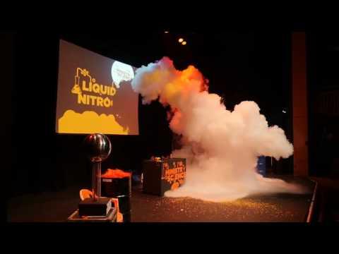 Liquid Nitrogen Cloud!
