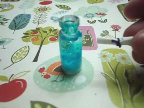 ~*Message in a bottle*~ Charm tutorial