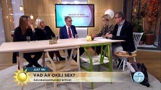 """Nytt förslag på sexualbrottslag: """"Sex utan samtycke är övergrepp"""" - Nyhetsmorgon (TV4)"""