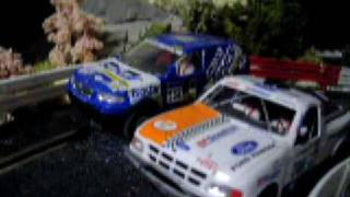 preview picture of video '45m slotcar rallytrack at hairslotrace'