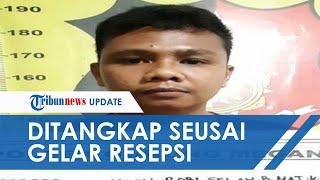Pengantin Pria Ditangkap setelah Gelar Resepsi, Keluarga yang Tak Terima Sempat Ribut dengan Polisi