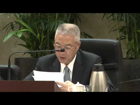 吳院長聽取「公共設施閒置空間之活化及防範策略方案」報告後表示