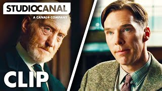 Clip 1 - Alan Turing Interview at Bletchley Park - The Imitation Game