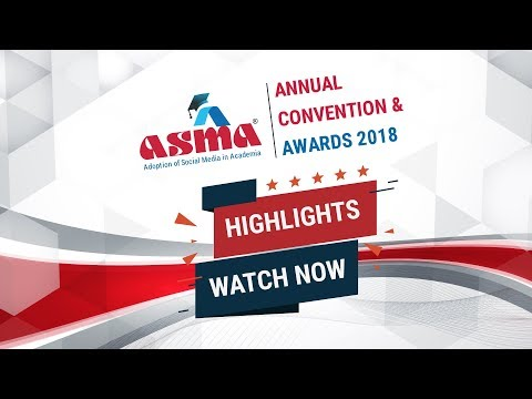 #ASMA2018 Highlights - Microsoft presents 2nd ASMA Annual Convention & Awards 2018 at Bangalore