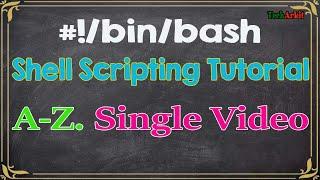 Shell Scripting Tutorial | Tech Arkit
