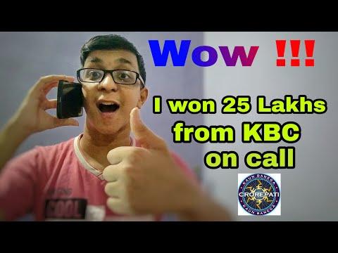 I won 25 Lakhs from KBC on call  ? Technical Chaitanya