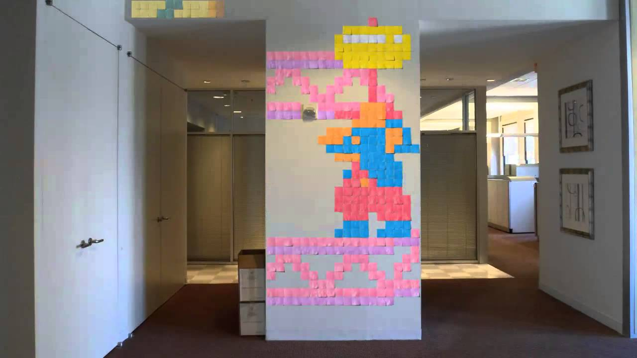 Stop-Motion Tribute To Ms. Pac-Man And Donkey Kong Took 96 Days To Make