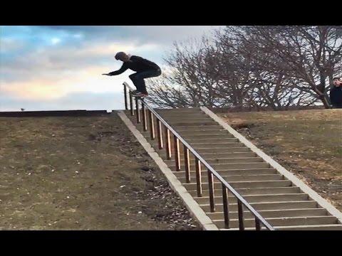 MASSIVE 32 Stair Rail 50-50!! - WTF! - Cody Davis