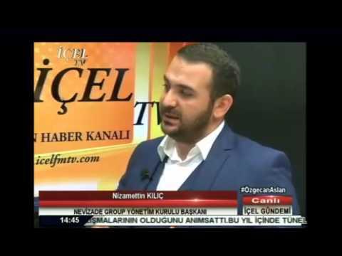 Nizamettin Kılıç İçel TV'ye konuk oldu