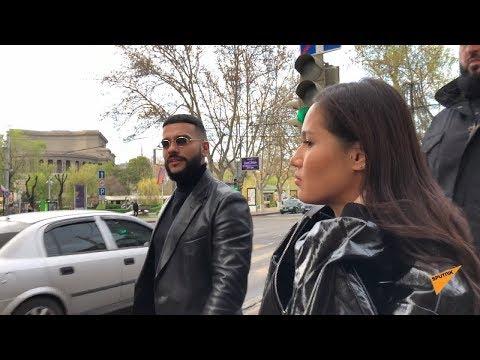 """Тимати """"поймали"""" в Ереване на камеру"""