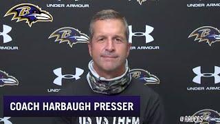 John Harbaugh Talks Covid Protocol, Player Quarantining   Baltimore Ravens