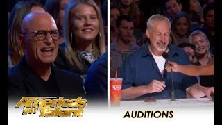 Simon Cowell REPLACES Howie Mandel As A Judge Then FIRES New Judge | America's Got Talent 2018