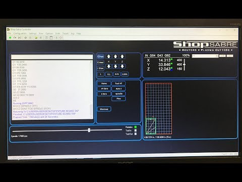 10. ShopSabre CNC – Router Control Functionalityvideo thumb