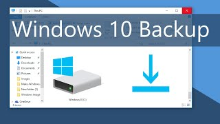 Windows 10 - How to Backup Your Files