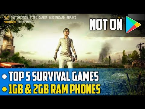 Download Top 5 Games Like Pubg 100 Working On 1 Gb Android Phones
