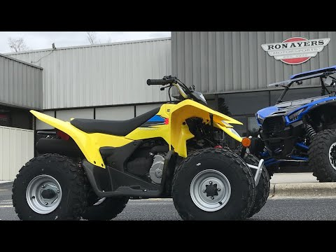 2021 Suzuki QuadSport Z90 in Greenville, North Carolina - Video 1