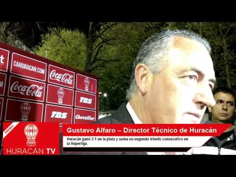 """Alfaro: """"Esto se construye partido a partido"""""""