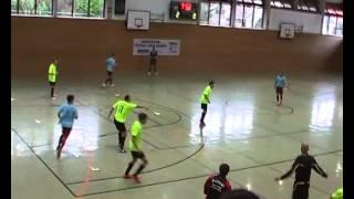preview picture of video 'Futsal Sport-Club Philippsburg - Futsal Nova Club Karlsruhe Halbzeit 1'