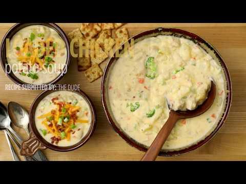 How to Make Loaded Chicken Potato Soup | Soup Recipes | Allrecipes.com