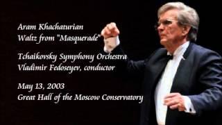 "Khachaturian: Waltz from ""Masquerade"" - Fedoseyev / Tchaikovsky Symphony Orchestra"