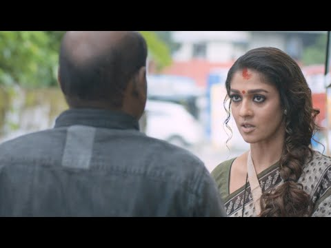 Puthiya Niyamam | Nayanthara Intro Scene,Nayans Scolds Bus Cleaner | Mazhavil Manorama