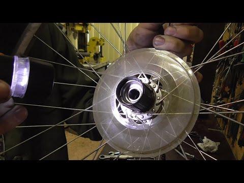 Ремонт задней втулки велосипеда