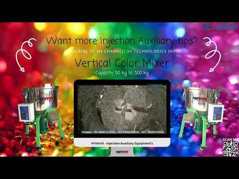 100 Kg Hynaar Vertical Plastic Color Mixer 100 Kg
