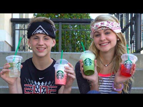 The Starbucks Challenge!  (MattyB vs Ivey) ... And Justin?