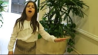 SOPHIA GRACE - Sings  ALL I WANT FOR CHRISTMAS IS YOU