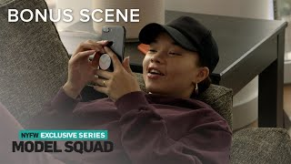 Ashley Moore Gets Pep Talk From IMG Agent Josh | Model Squad | E! - Video Youtube