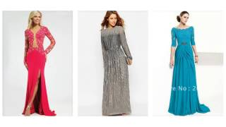 Top 100 Long Sleeved Dresses, Evening Dresses With Sleeves