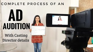 How to get selected for AD films   My Live Audition   Casting Director Details