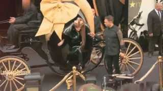 Lady Gaga ft Bach Arrives!!  ('Fame' Fragrance Launch)