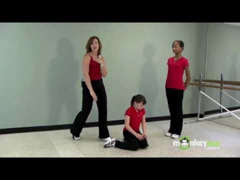 Screenshot of video: Upper body and shoulder