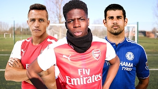 WORLDS BEST STRIKER FOOTBALL CHALLENGES ON YOUTUBE