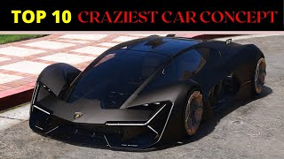 Top 10 Craziest Car Concept (2020) within 60 sec