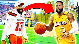 From NFL to NBA: OBJ's New Career
