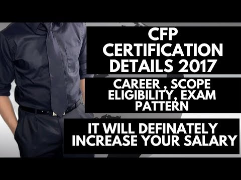 CFP CERTIFICATION COMPLETE DETAIL   CFP FEE   CFP Course ...