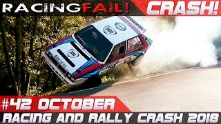 Racing and Rally Crash | Fails of the Week 42 October incl. 16º RallyLegend 2018