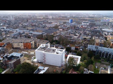Désamiantage de l'ancienne CAF de Rouen
