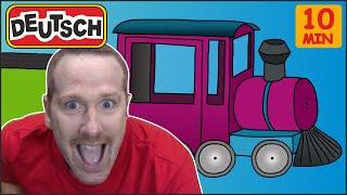 Spielzeuge + MEHR Spielen | Deutsch für Kinder | Steve and Maggie Deutsch
