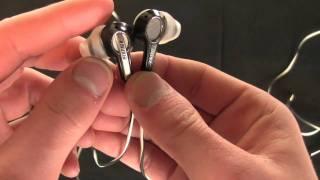 Bose mie2i ear headphone review 2010