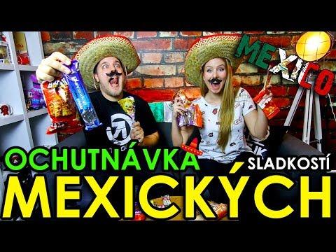 OCHUTNÁVKA MEXICKÝCH SLADKOSTÍ
