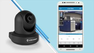 Wifi Mobile App Setup for Amcrest ProHD 2MP PTZ WiFi IP Camera (IP2M-841)