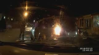 Придурки на дороге, приколы на дороге 2018 6