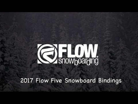 2017 Flow Five Snowboard Bindings – Review – The-House.com