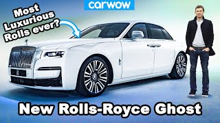 New Rolls-Royce Ghost - see why it's so silent it could make you sick!