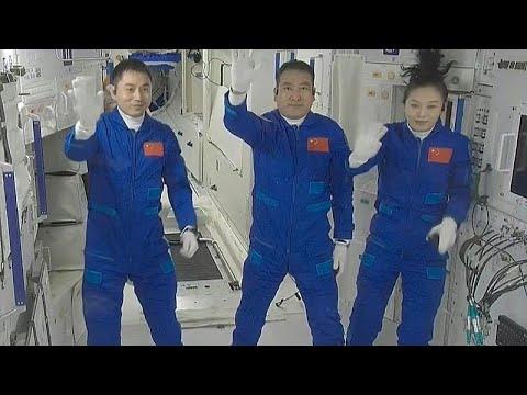 Κίνα: Εκτοξεύτηκε δεύτερη επανδρωμένη αποστολή που θα κατασκευάσει τον διαστημικό σταθμό της