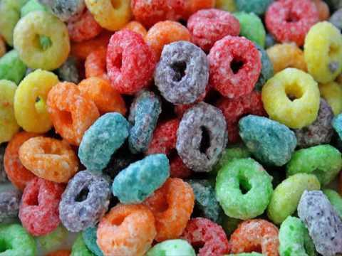 Froot loops colors